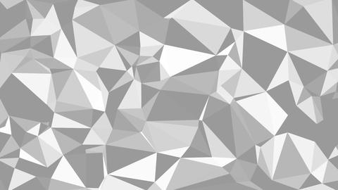 The Monochrome Triangles Background Animation