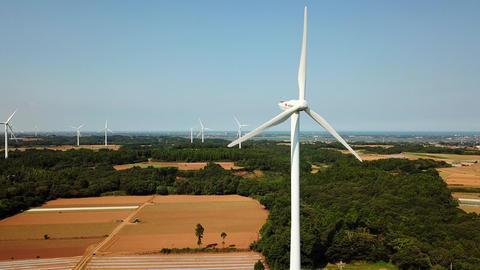 wind power generator Footage