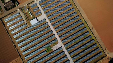 solar panels Filmmaterial