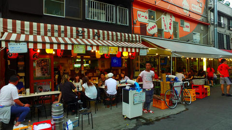 Asakusa Hoppy street in Tokyo Japan ライブ動画