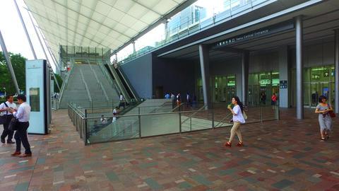 Tokyo station Yaesu central entrance Tokyo Japan Footage