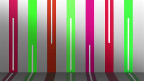 COLOR LINE WALL PINK-GREEN Animación