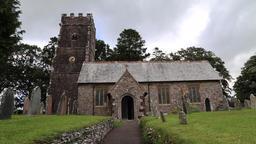 Church of St Mary Magdelene Exford Somerset UK Archivo