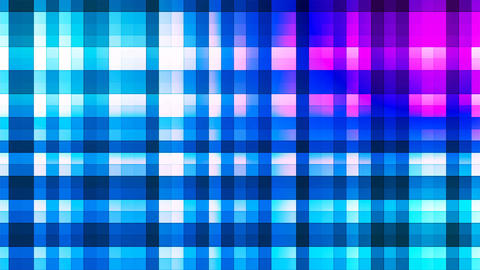 Broadcast Twinkling Hi-Tech Strips, Blue, Abstract, Loopable, 4K Animation