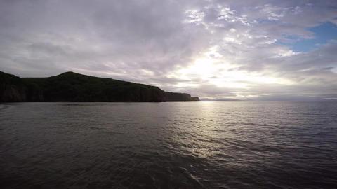 Sea Safari journey along the Kamchatka Peninsula Footage