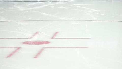 Hockey Official skating Footage