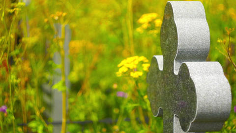 Granite cross churchyard Archivo