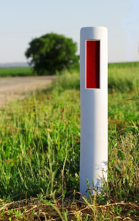 Road Signal Column Foto