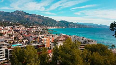 Aerial Shot of Mediterranean Resort City Image