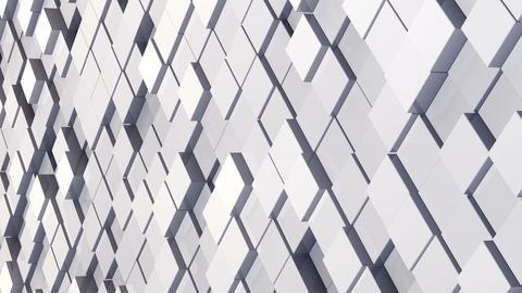 Geometric Block Wall B 1 D C1Fb 4k Animation