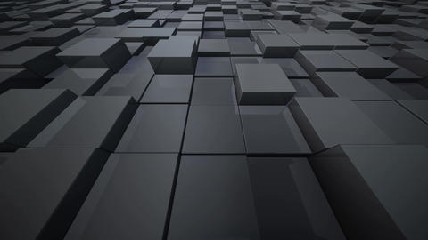 Geometric Block Wall B 1 B BpMd 4k CG動画