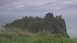 Dunnottar Castle, Scotland, Real 200fps SlowMo - Native Version Footage