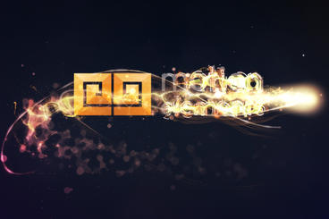 Particles Wipe Logo After Effects Templates