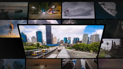 Media Wall 2 After Effects Template