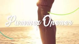 Summer Opener Premiere Pro Template