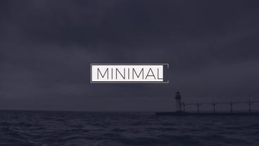 Elegant Minimal Titles Premiere Proテンプレート