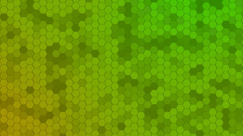 4K Loop Hexagons Mosaic Background Live Action