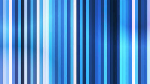 Broadcast Twinkling Vertical Hi-Tech Bars, Blue, Abstract, Loopable, 4K Animation