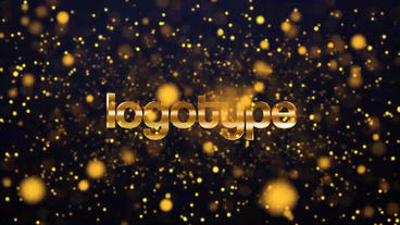 Gold Intro Pack 4 in 1 After Effects Template