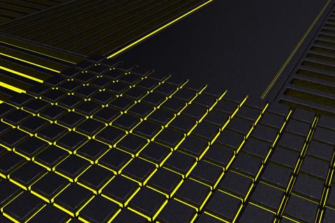 Futuristic technological or industrial background made from meta Foto