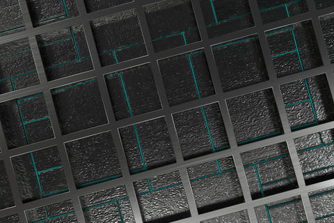 Futuristic technological or industrial background made from brus Fotografía
