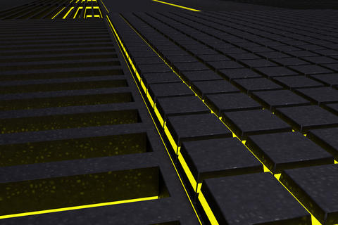 Futuristic technological or industrial background made from meta Fotografía