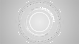 Grey technology futuristic user interface video animation Animation