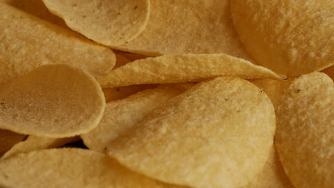 Potato chips Footage