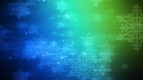 Winter Colors of Christmas Animation