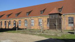 Auschwitz Birkenau. German, Nazi concentration and extermination camp Filmmaterial