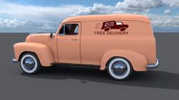 Chev delivery Van 3D Model