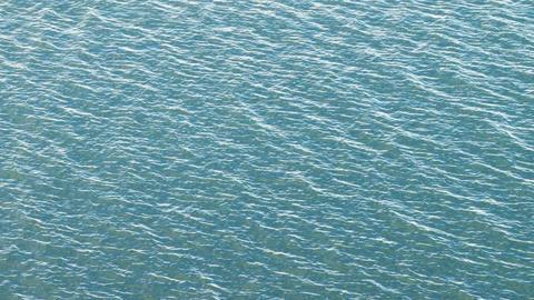 Bay water ripples Footage