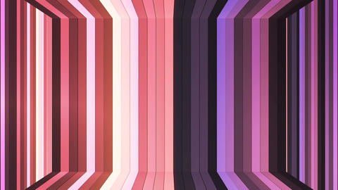 Broadcast Twinkling Vertical Hi-Tech Bars Room, Brown, Abstract, Loopable, 4K Animation