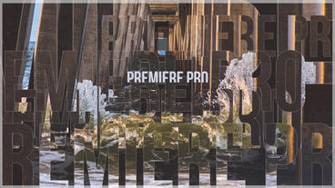 Text Slideshow Premiere Proテンプレート