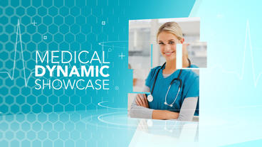 Medical Dynamic Showcase - After Effects Template After Effects Template