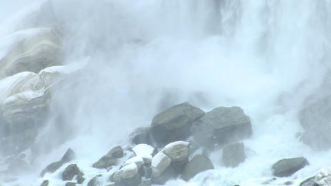 Rocky niagara falls Footage