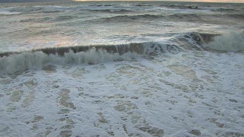 Stormy seas Footage