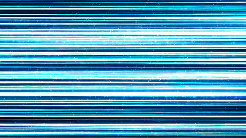 Blue Lines of Light Technology Abstract Background Animation