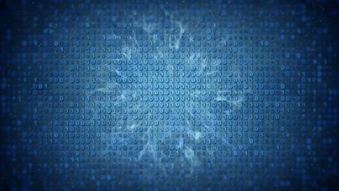 Binary data loopable background Animation
