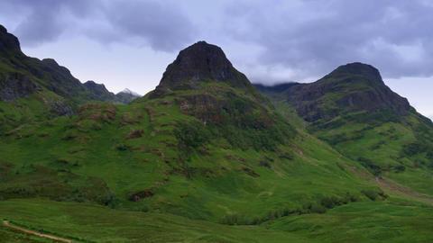 Glen Etive Mountains, Scotland Archivo