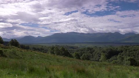 Glencoe Landscapes, Scotland Footage