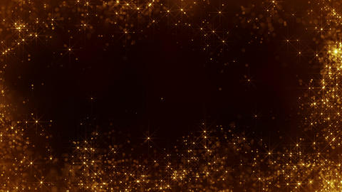 Frame of sparkling particles seamless loop animation Animation