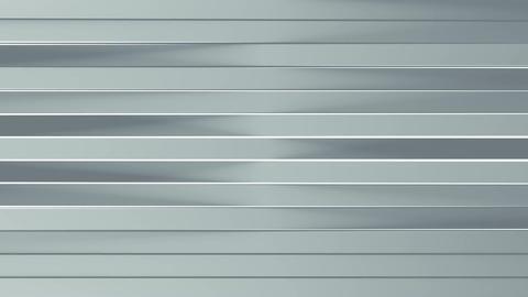 Grey horizontal lines rotate seamless loop 3D animation Animation