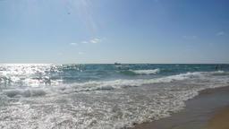 Black Sea beach. Seacoast Filmmaterial