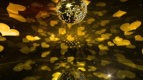 Mirror Ball 2 x 2 DL 18 HD Stock Video Footage