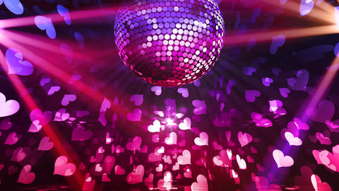 Mirror Ball 2 x 2 DL 20 HD Stock Video Footage
