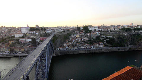 Dom Luis I bridge Stock Video Footage