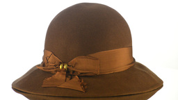 Brown vintage hat Footage