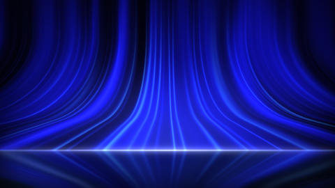 Stage Curtain 5 Aa 1r HD Stock Video Footage
