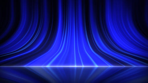 Stage Curtain 5 Aa 1r HD stock footage